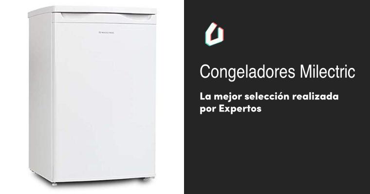 CONGELADOR VERTICAL FRV-140 MILECTRIC Blanco, Alto 125 cm, A++, Luz interior LED, Control de temperatura