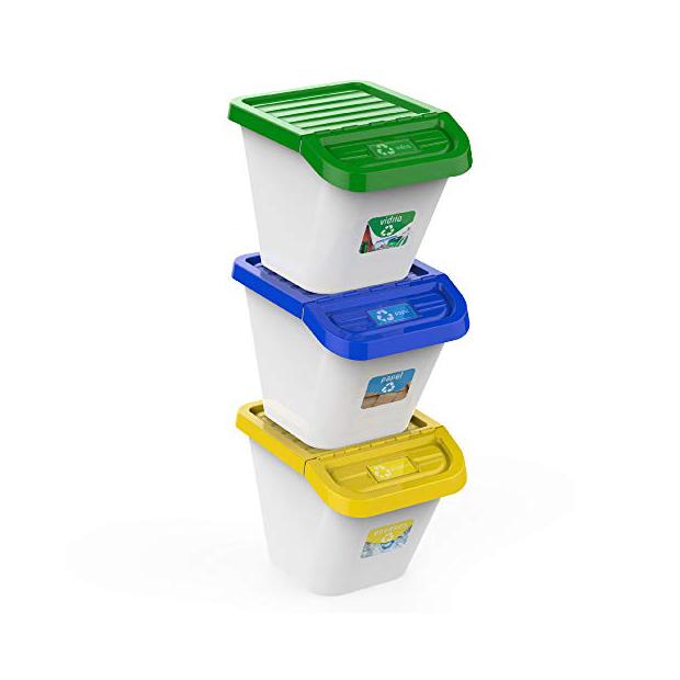 Los mejores cubos de basura reciclaje